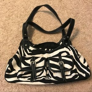Handbags - Zebra Stripe Purse